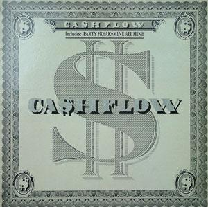 Album  Cover Ca$hflow - Cashflow on CLUB Records from 1986