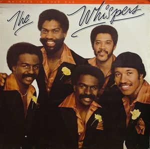 Album  Cover The Whispers - Whisper In Your Ear on SOLAR Records from 1979
