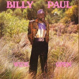 Front Cover Album Billy Paul - Wide Open