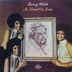 Front Cover Album Barry White - No Limit On Love