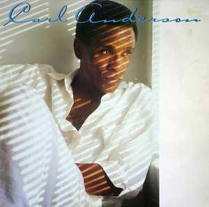 Album  Cover Carl Anderson - Carl Anderson on EPIC Records from 1986