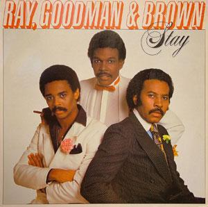 Album  Cover Ray Goodman & Brown - Stay on POLYDOR Records from 1981