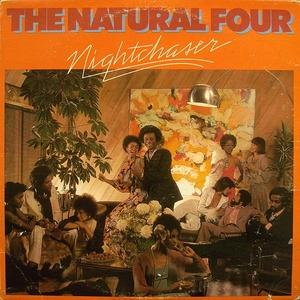 Album  Cover The Natural Four - Nightchaser on CURTOM Records from 1976