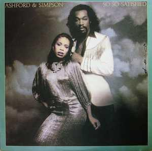 Album  Cover Ashford & Simpson - So, So Satisfied on WARNER BROS. Records from 1977