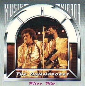 Album  Cover Commodores - Rise Up on BLUE MOON Records from 1987