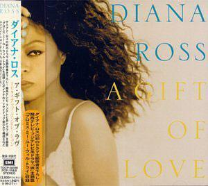 Album  Cover Diana Ross - Gift Of Love on EMI Records from 2000