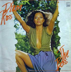 Album  Cover Diana Ross - The Boss on MOTOWN Records from 1979