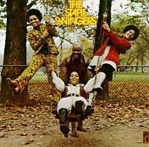 Album  Cover Staple Singers - The Staple Swingers on STAX Records from 1971