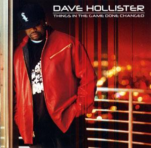 Front Cover Album Dave Hollister - Things In The Game Done Changed