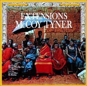 Album  Cover Mccoy Tyner - Extensions on BLUE NOTE Records from 1970