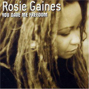 Album  Cover Rosie Gaines - You Gave Me Freedom on DOME RECORDS Records from 2004