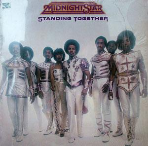 Album  Cover Midnight Star - Standing Together on SOLAR Records from 1981