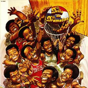 Album  Cover The Dramatics - With The Dells The Dells Vs. The Dramatics on CADET Records from 1974