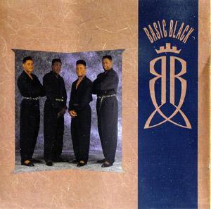 Album  Cover Basic Black - Basic Black on MOTOWN Records from 1990