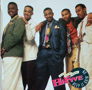 Album  Cover Hi-five - Keep It Goin' On on JIVE Records from 1992