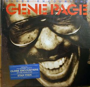 Album  Cover Gene Page - Close Encounters on ARISTA Records from 1978