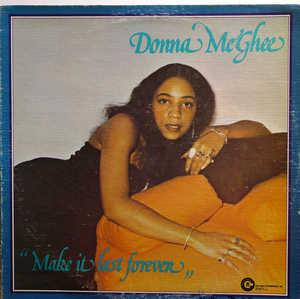 Front Cover Album Donna Mcghee - Make It Last Forever