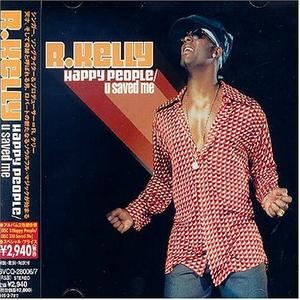 Album  Cover R. Kelly - Happy People on BMG Records from 2004