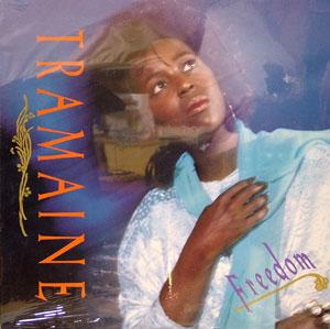 Album  Cover Tramaine Hawkins - Freedom on A&M Records from 1987