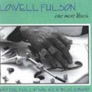 Album  Cover Lowell Fulson - One More Blues on EVIDENCE Records from 1984