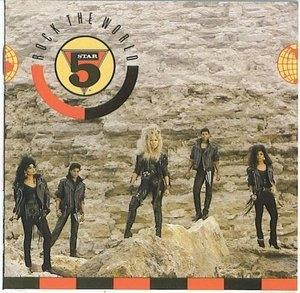 Album  Cover Five Star - Rock The World on TENT Records from 1988