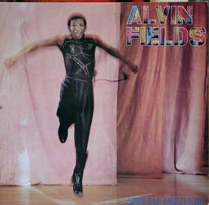 Album  Cover Alvin Fields - Special Delivery on A&M Records from 1981