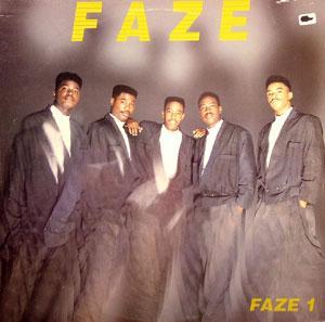 Album  Cover Faze - Faze 1 on UNITED ARTIST Records from 1989