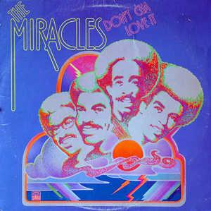 Front Cover Album The Miracles - Don't Cha Love It