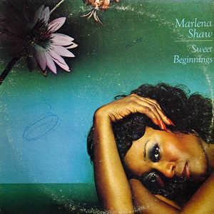 Front Cover Album Marlena Shaw - Sweet Beginnings