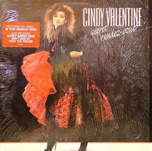 Album  Cover Cindy Valentine - Secret Rendez-vous on  Records from 1987