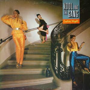 Album  Cover Kool & The Gang - Ladies' Night on DE-LITE Records from 1979