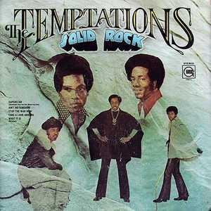 Album  Cover The Temptations - Solid Rock on GORDY Records from 1972