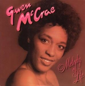 Album  Cover Gwen Mccrae - Melody Of Life on CAT Records from 1979