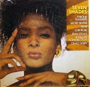 Album  Cover Various Artists - Seven Shades on MCA Records from 1988