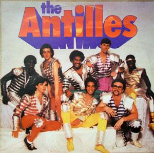 Album  Cover The Antilles - The Antilles on ICE Records from 1982