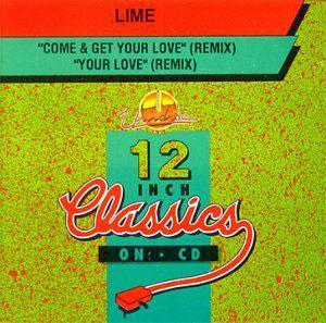 Album  Cover Lime - Come And Get Your Love, Your Love on A&M Records from 1985