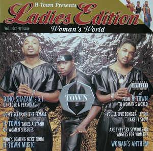 Album  Cover H Town - Ladies Edition on LOUD Records from 1997