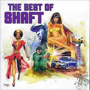 Front Cover Album Isaac Hayes - Shaft