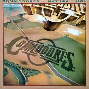Front Cover Album Commodores - Natural High