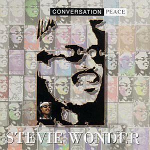 Album  Cover Stevie Wonder - Conversation Peace on MOTOWN Records from 1995