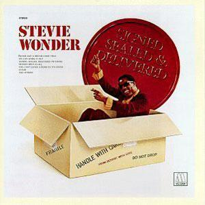 Album  Cover Stevie Wonder - Signed, Sealed And Delivered on TAMLA Records from 1970