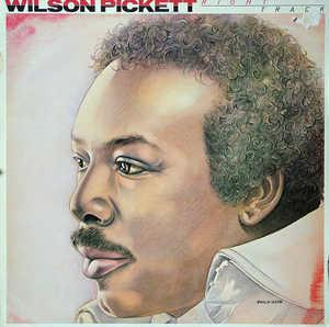 Album  Cover Wilson Pickett - Right Track on EMI AMERICA Records from 1981