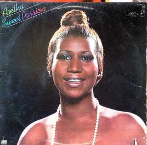 Album  Cover Aretha Franklin - Sweet Passion on ATLANTIC Records from 1977
