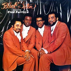 Front Cover Album Black Satin Featuring Fred Parris - Black Satin