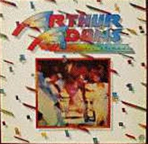 Album  Cover Arthur Adams - Midnight Serenade on FANTASY Records from 1977