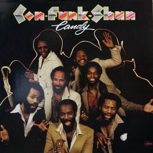 Album  Cover Con Funk Shun - Candy on MERCURY Records from 1979