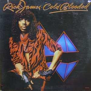 Album  Cover Rick James - Cold Blooded on GORDY Records from 1983