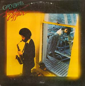 Album  Cover Gary Bartz - Love Affair on CAPITOL Records from 1978