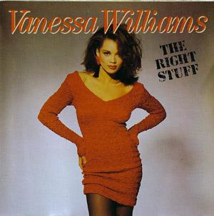 Album  Cover Vanessa Williams - The Right Stuff on WING Records from 1988