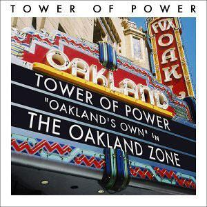 Front Cover Album Tower Of Power - Oakland Zone